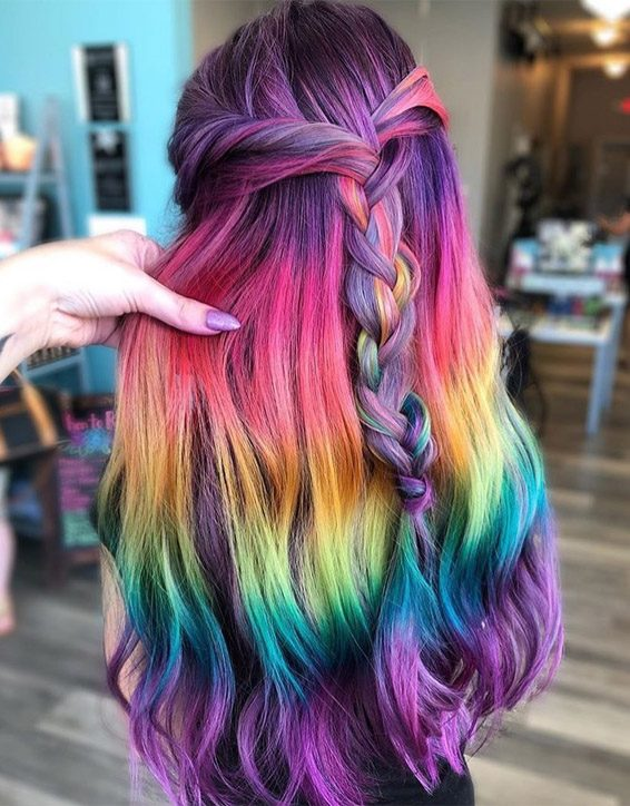 Unique & Fresh Ideas of Hair Color for 2019