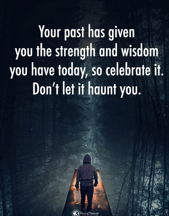 Your Past has given you the Strength - Best Strength Quotes