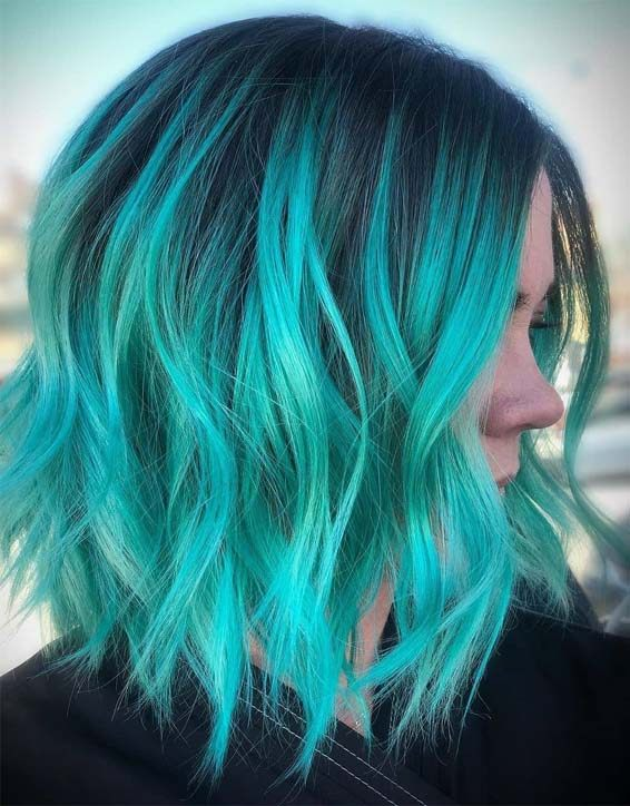 Fresh Hair Color Ideas & Shades for Short Hair