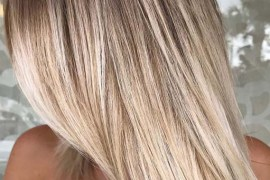 Sleek Straight Balayage Hair Styles for Women 2019