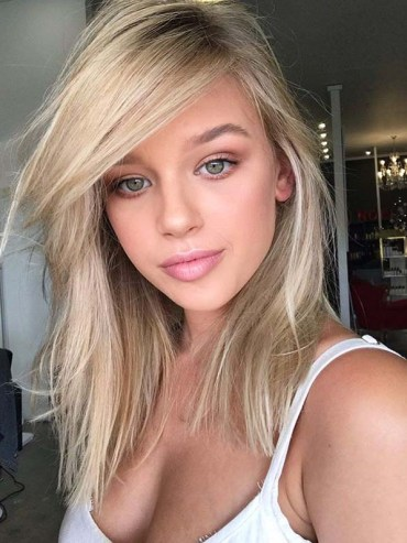 Balayage Blonde Hair Colors for Medium to Long Locks for 2019