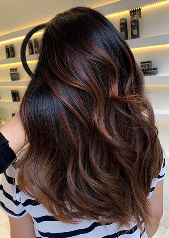 Brunette Balayage Hair Styles and Hair Colors for 2019