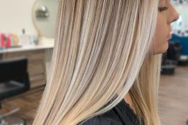 Fresh Look of Blonde Balayage Hair that are Looking Cute