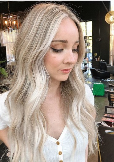 Latest Hair Color Shades and Highlights for Women 2019