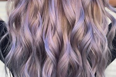 Beautiful silver balayage hair colors to Try Nowadays