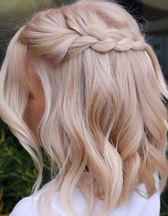 Fantastic Blonde Haircuts with Braids for Women 2019