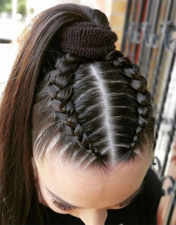 Stylish Look of Braids Hairstyles for 2019 Girls