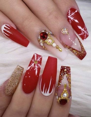 Awesome Style of Coffin Nails for 2020 Girls