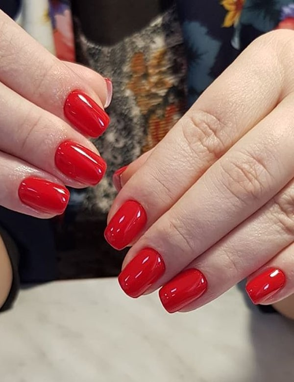 Bold Styles Of Red Nails to Show Off Nowadays