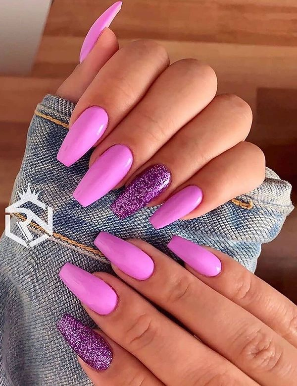 Gorgeous Pink Nail Arts and Designs to Wear in 2020