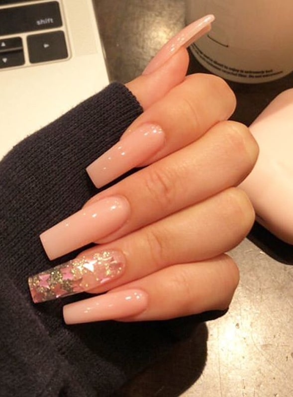 Fantastic Nail Designs with Pink Shades for Women 2020