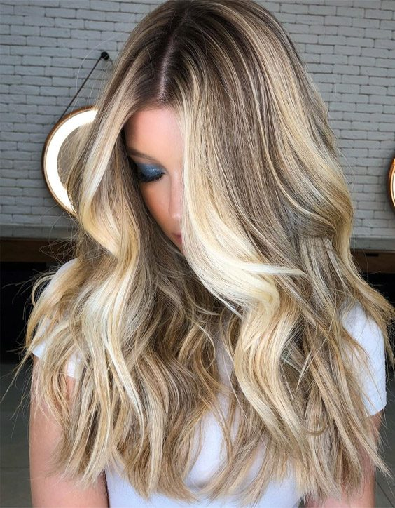 Fresh & Unique Blonde Highlights for 2020