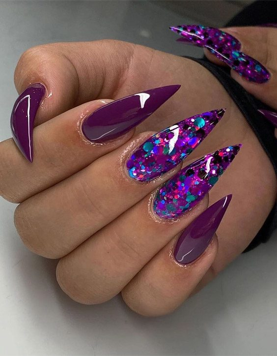 Stunning & Cutest Stiletto Nails for 2020