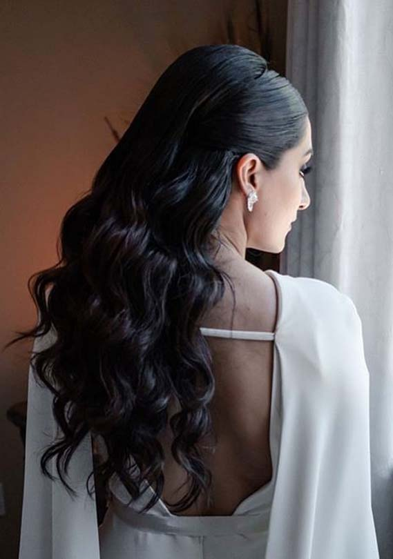 Wedding Or Bridal Hairstyles for Long Hair in 2020