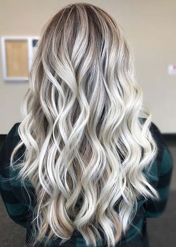 Winter Blonde Hair Color Ideas for Long Locks to Try in 2020