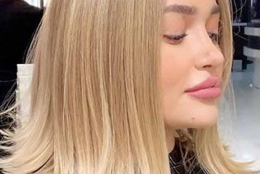 Medium Length Straight Blonde Haircuts for Women 2020