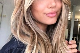 Blends of bronde hair color trends for Ladies in 2020