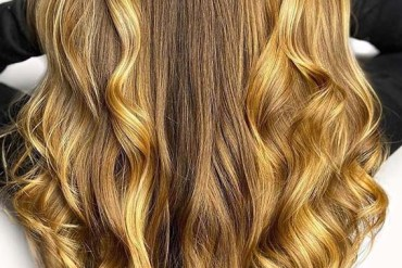 Beautiful honey balayage Hair Color Trends for Women 2020
