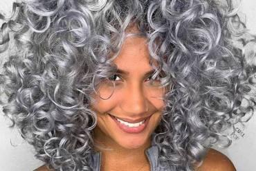 Fabulous Chrome Curly Hair Looks for 2020