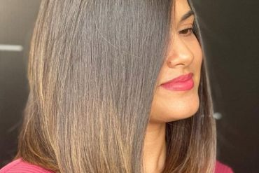 Gorgeous Style of Medium Hair for All Face Shape Girls