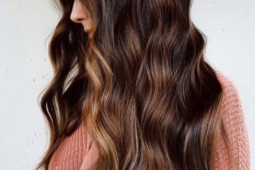 Lovely Golden chestnut hair color shades for Ladies in 2020
