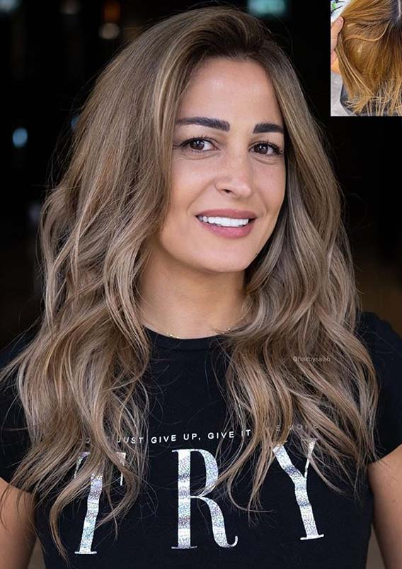 Awesome Beige Blonde Balayage Hair Color Ideas for 2020