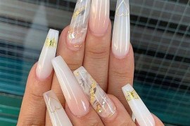 Bright Long Nails Designs to Show Off in Current Year