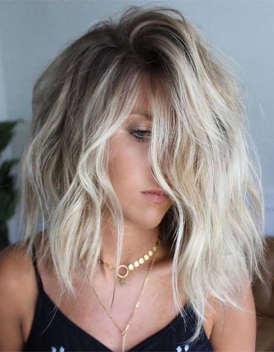 Vibrant Style of Medium Textured Bob Hair Trends for Girls