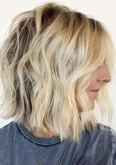 Awesome Textured Short Bob Haircuts for Women in 2020