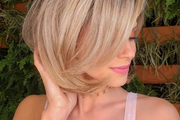 Gorgeous Look of Short Bob Hair to Try Now