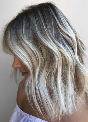Favorite Blonde Hair Color Tones with Dark Roots