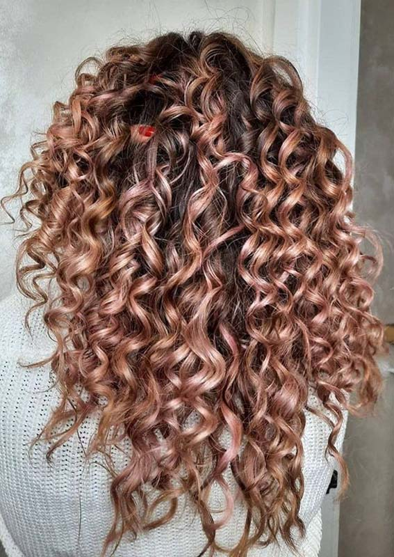 Obsessed Curls for Long Hair Styles