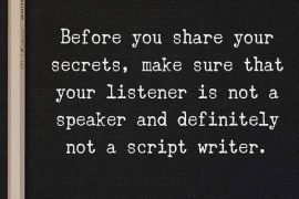 Listener is not a Speaker - Inspiring Quotes & Sayings