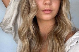 Smokey beige blonde balayage Hair Color Shades