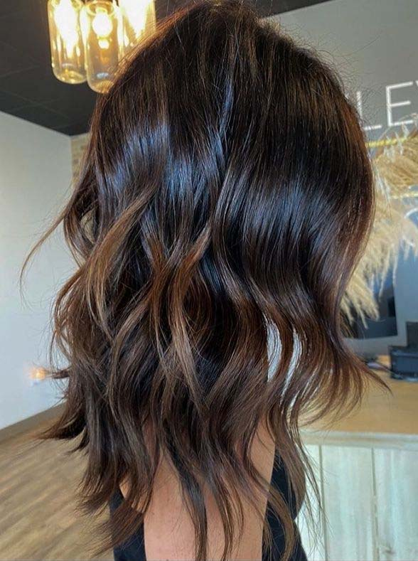 Gorgeous Brunette Balayage Hair Color Trends