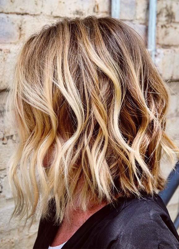 Best Honey Lob Haircuts for Girls