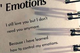 How to Control My Emotions - Inspiring Emotions Quotes