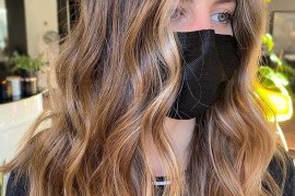 Lovely sunkissed brunette Hair Color Tones You Must Try