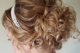 Gracefully Curly Hairstyles updo