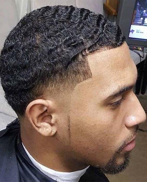Afro Caesar Haircuts for Men