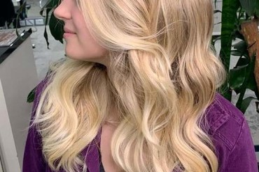 Amazing Golden Blonde Hair Color Shades