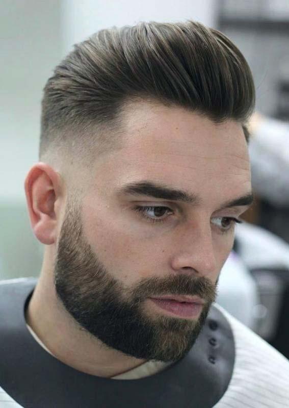 Long Messy Princeton Ivy Haircuts with Beard