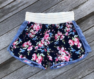 ps kate floral short, $24