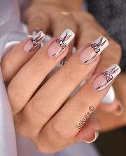latest beautiful bridal nail art