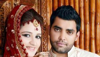 Umar Akmal Married To Abdul Qadirs Daughter
