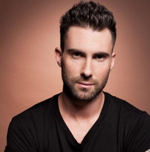adam levine men casual short hairstyle 2014 stylespk