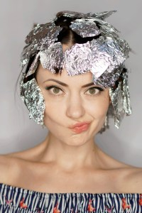 How To Curl Hair with Foil and a Flat Iron - Step-by-Step ...