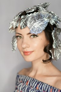 How To Curl Hair with Foil and a Flat Iron