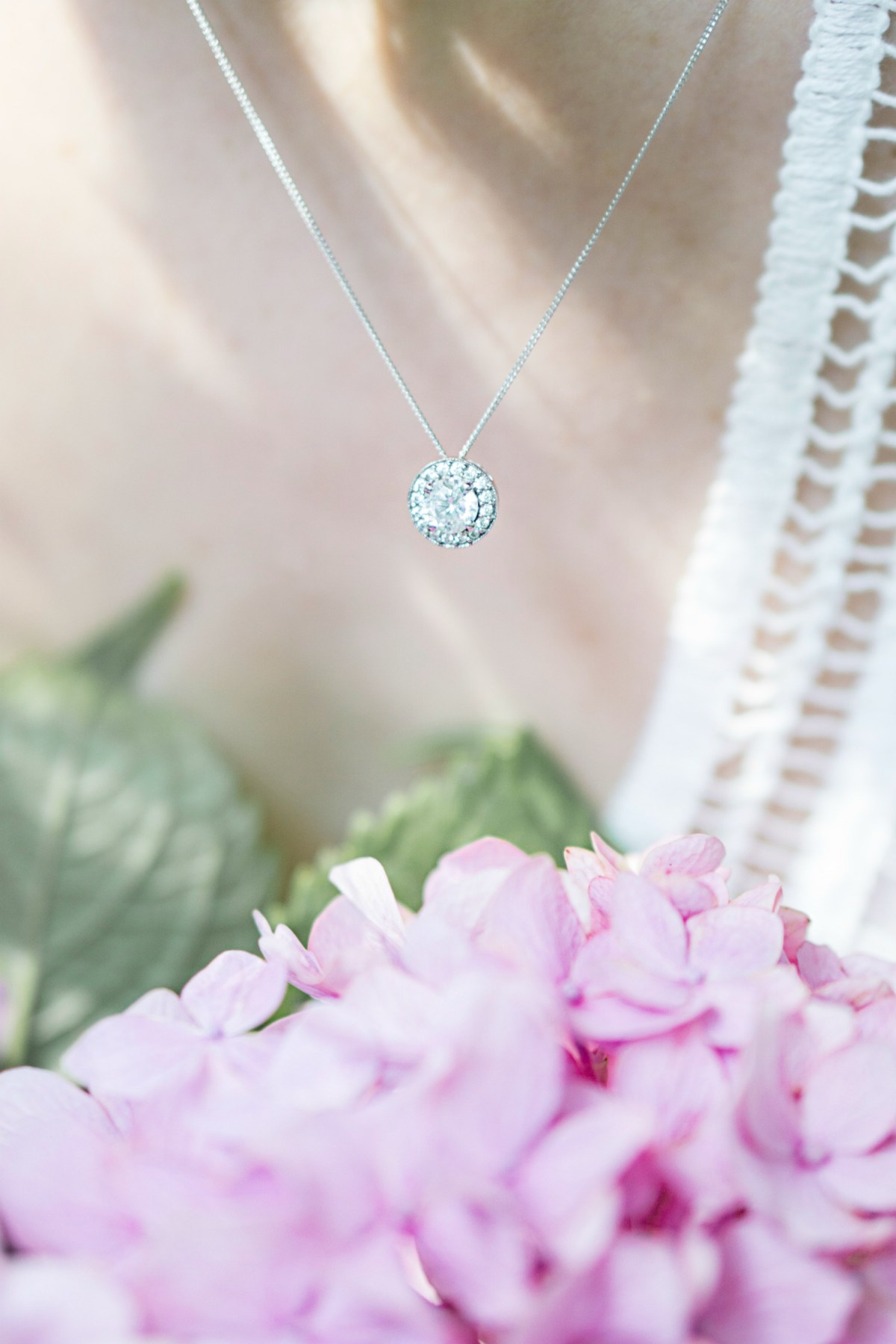 Michael Hill Pendant with Cubic Zirconias in Sterling Silver 2