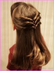 cute easy hairstyles long hair